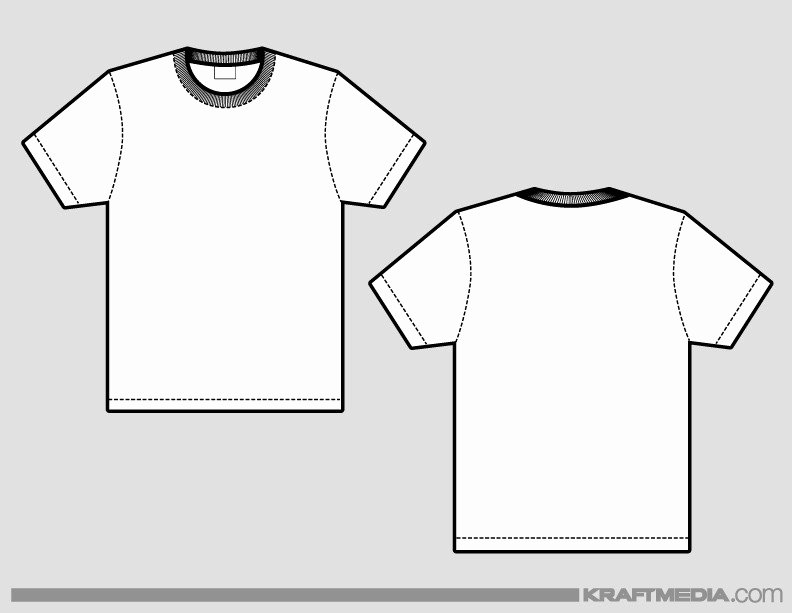 T Shirt Template Illustrator Icebergcoworking