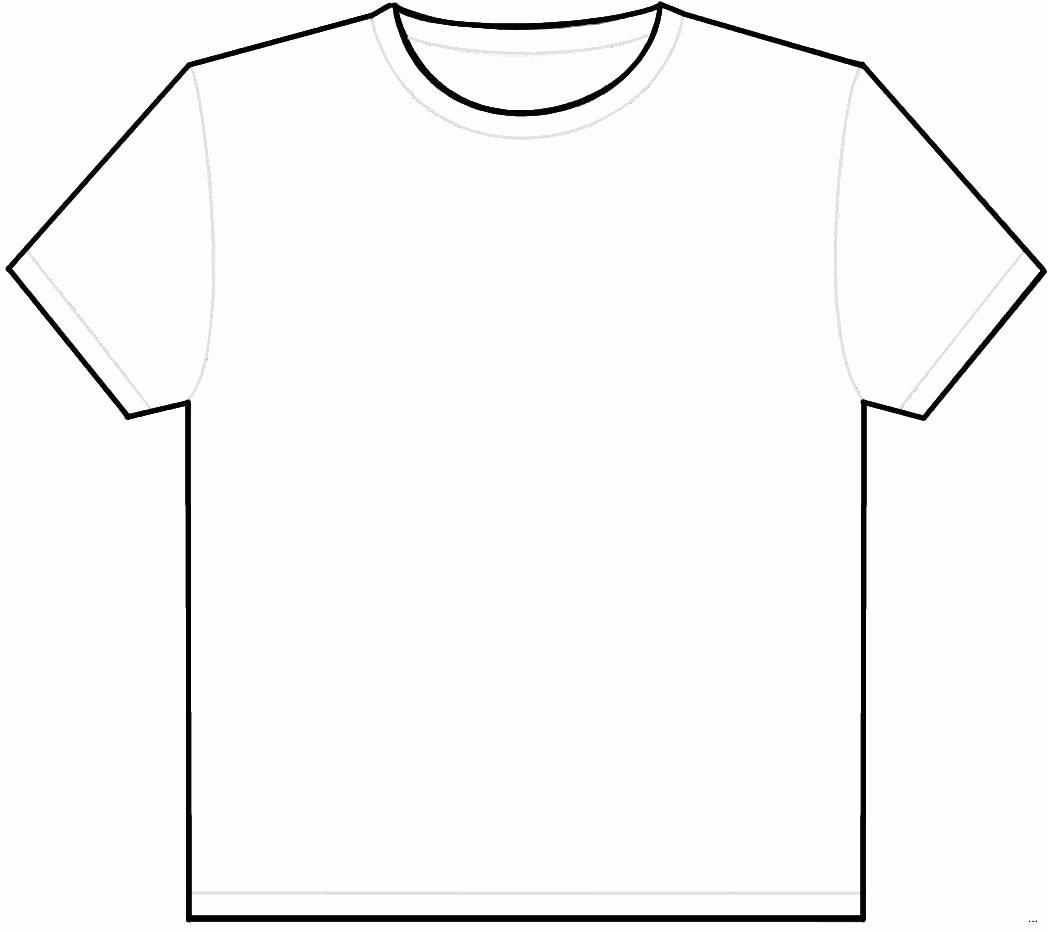 T Shirt Template Illustrator