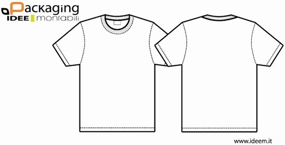 T Shirt Template Vectors Free Vector In Adobe Illustrator