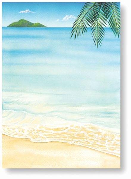 Tagfree Hawaiian Party Invitations Printable