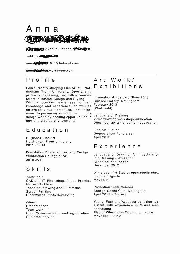Tattoo Artist Resume Best Resume Collection