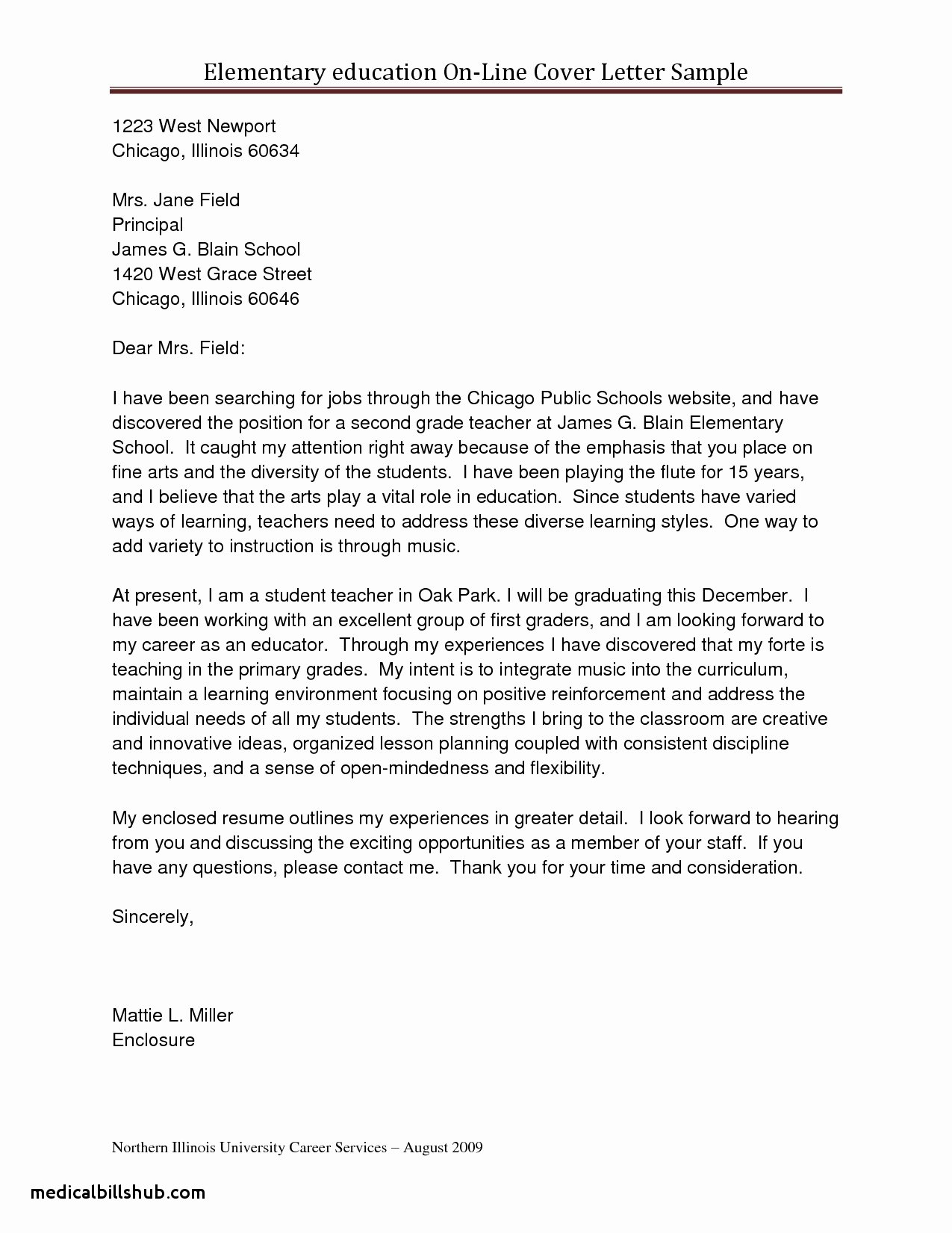 Teacher Cover Letter No Experience associates Degree In