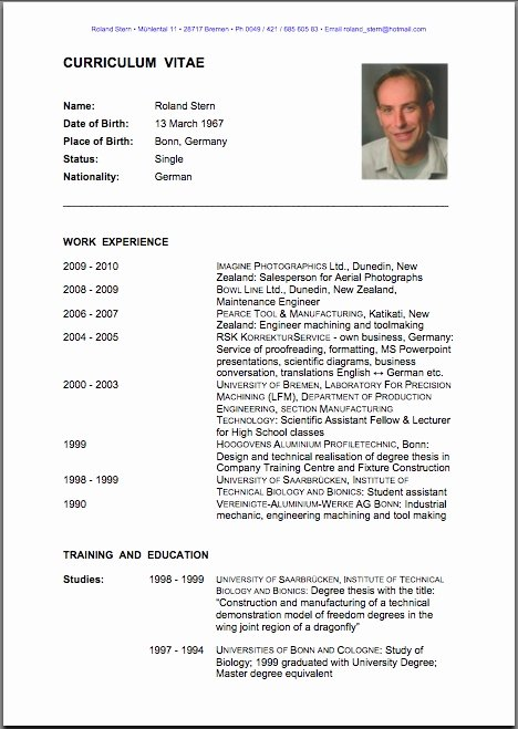 Teacher English Resume format Cv English Resume format