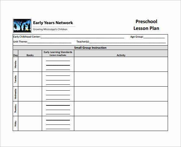 Teacher Lesson Plan Template Pdf Templates Data