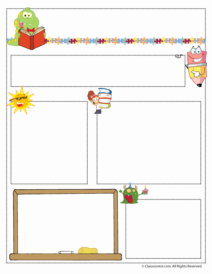 Teacher Newsletter Templates Teacher Newsletter Templates