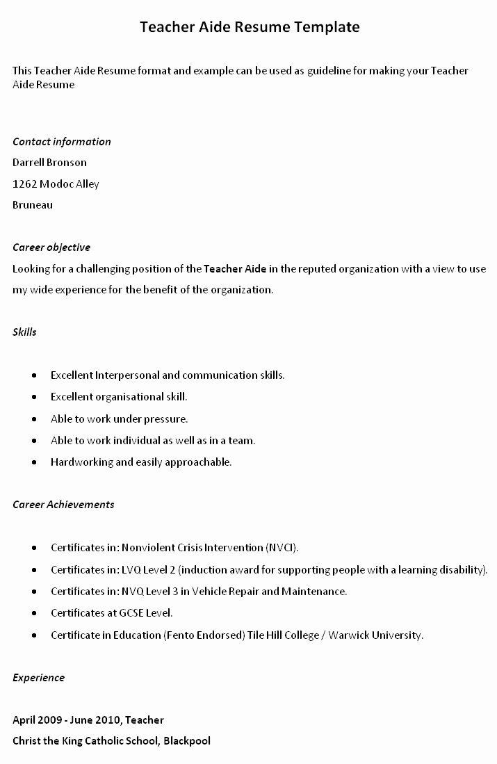 Teacher Resume Templates with Quotes Quotesgram