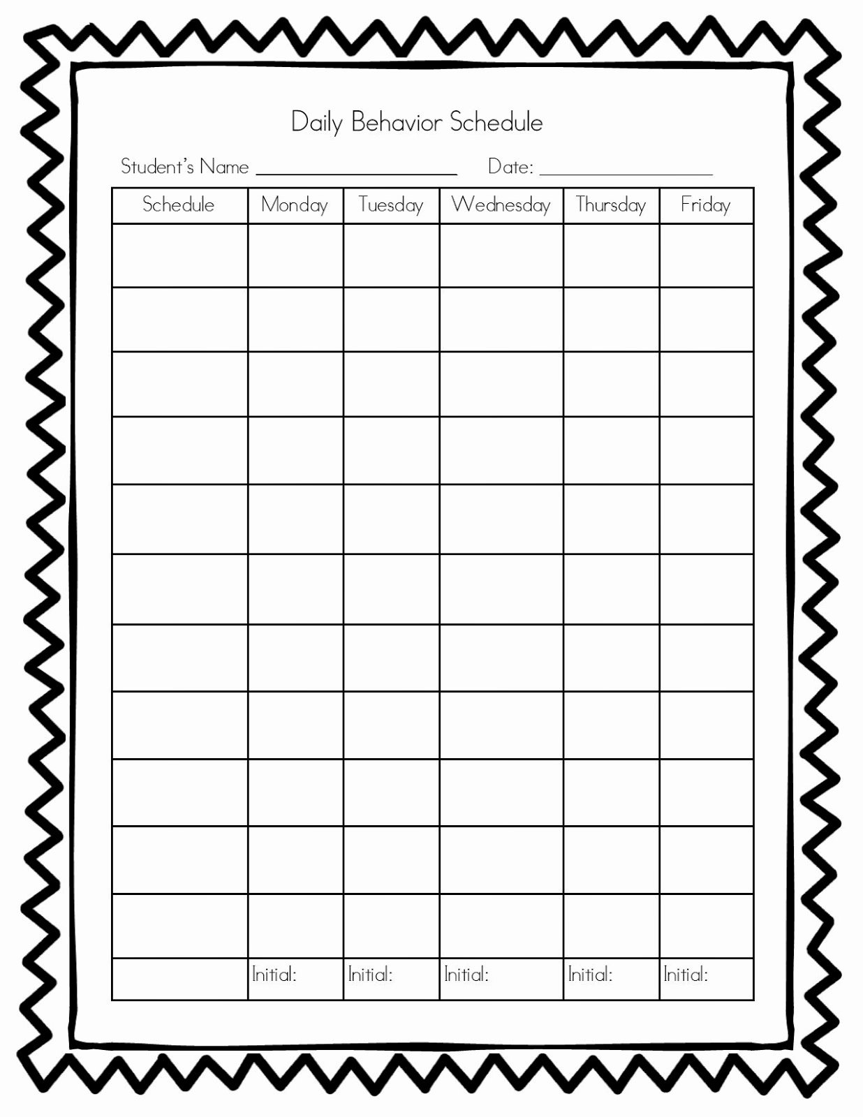 Teachers R Us Classroom Management Behavior Chart