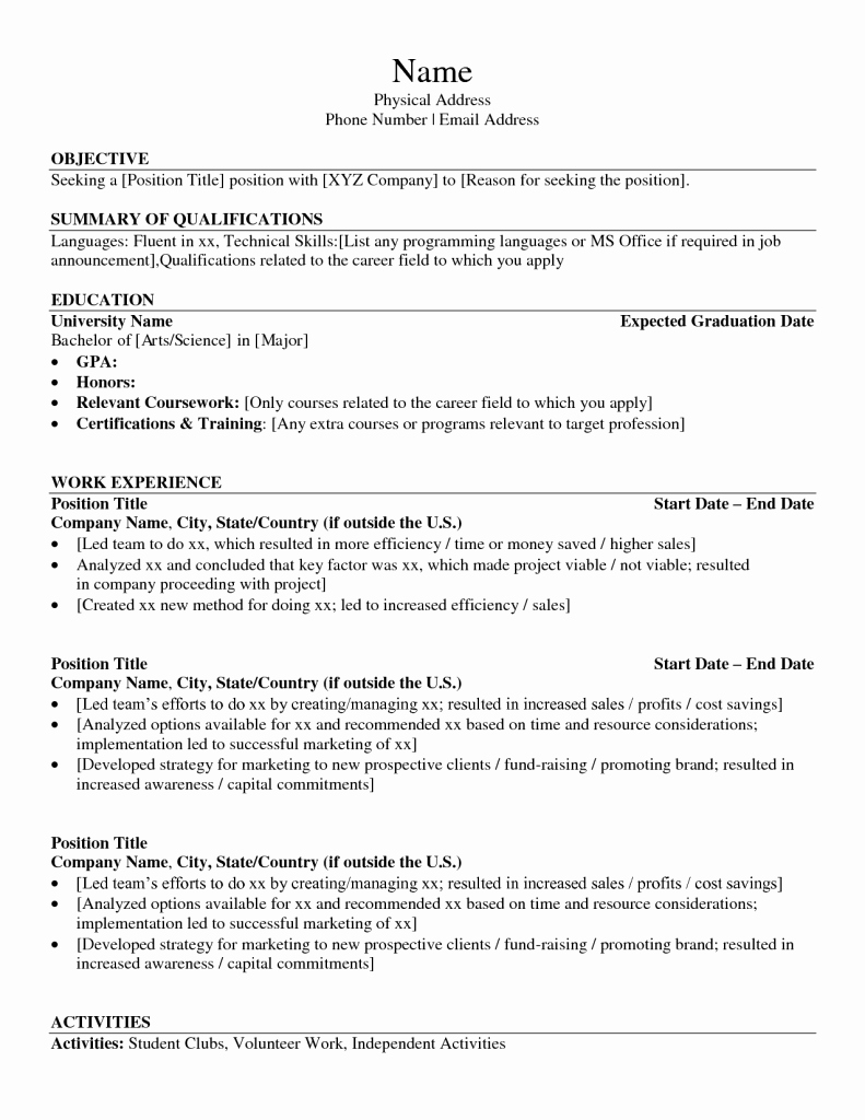Technical Skills to List Resume Basic Puter
