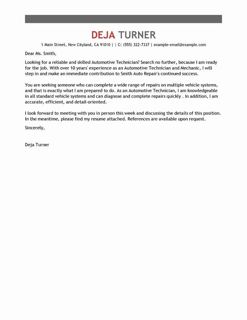 Technical Writer Cover Letter for Resume