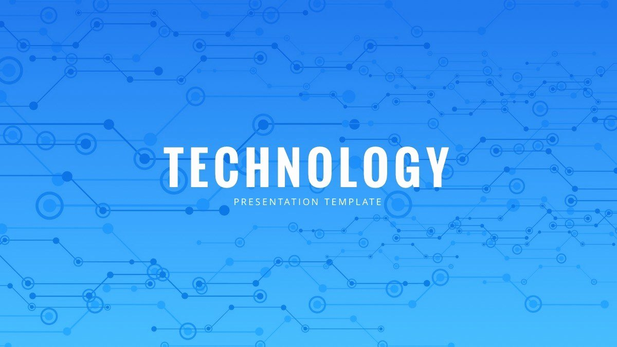 Technology Powerpoint Template Free Powerpoint Presentation