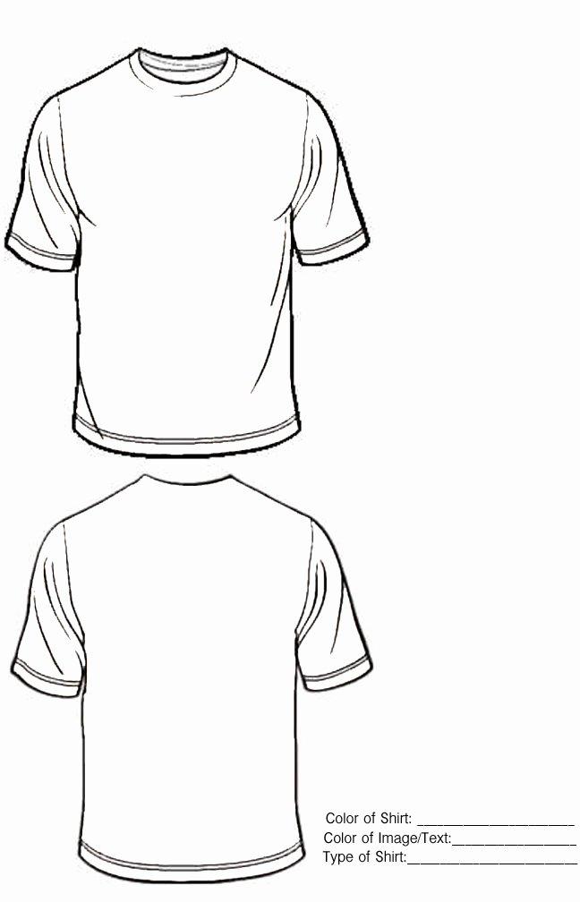 Tee Shirt Template Illustrator