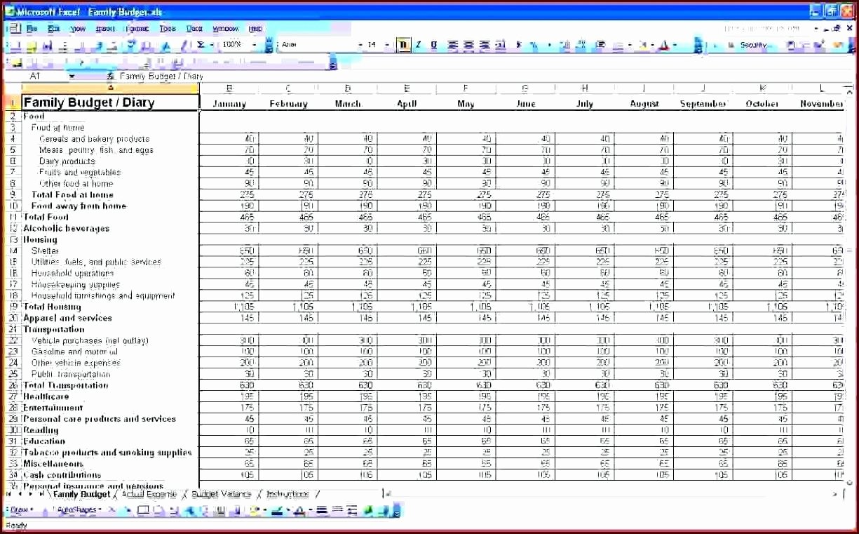 Template Accounting T Account Template