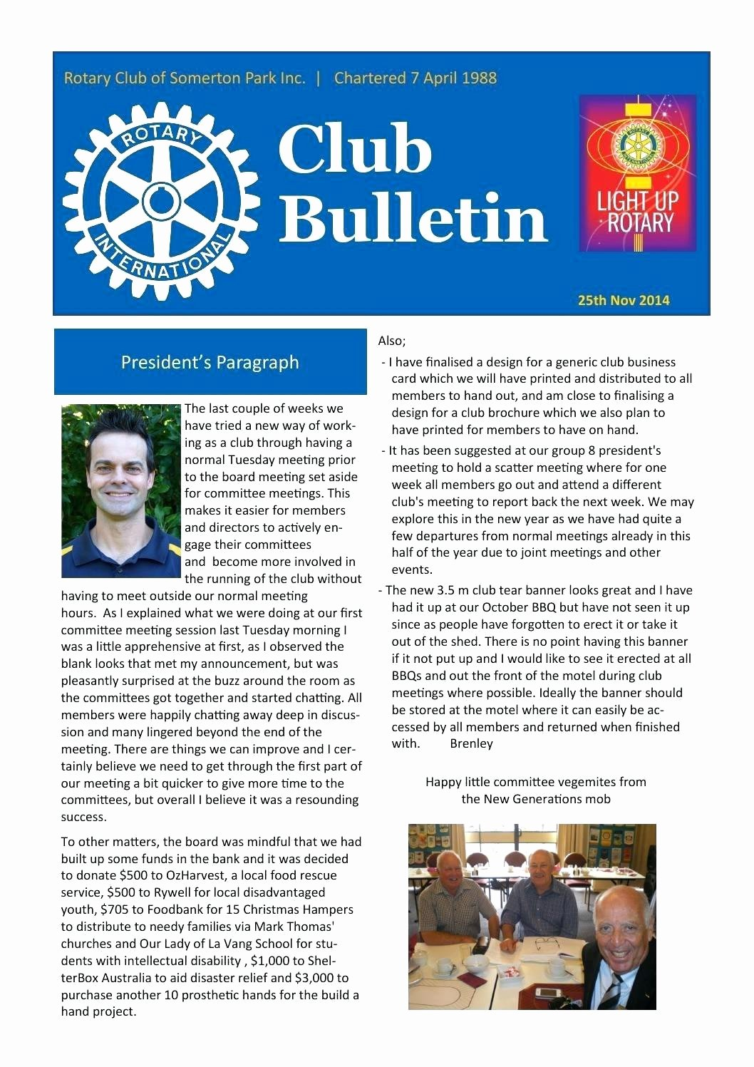 Template Bulletin Template Publisher