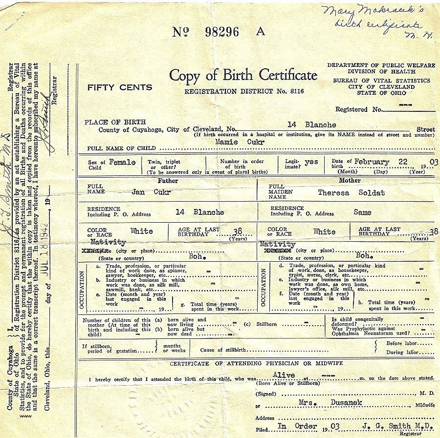 Template California Birth Certificate Template