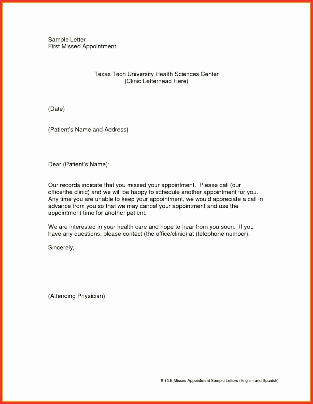 Template Confirmation Appointment Letter Template