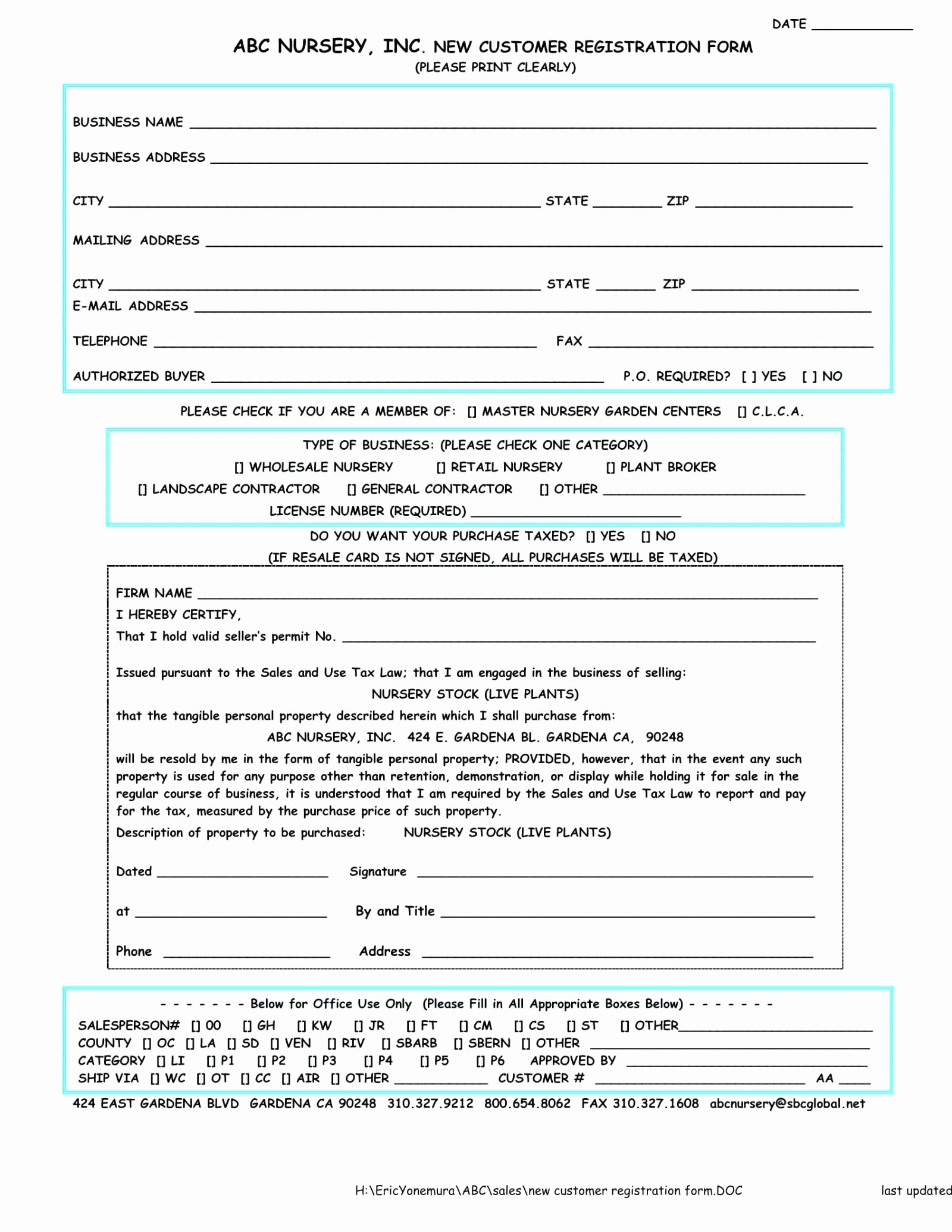 Template Customer Feedback form Template Word
