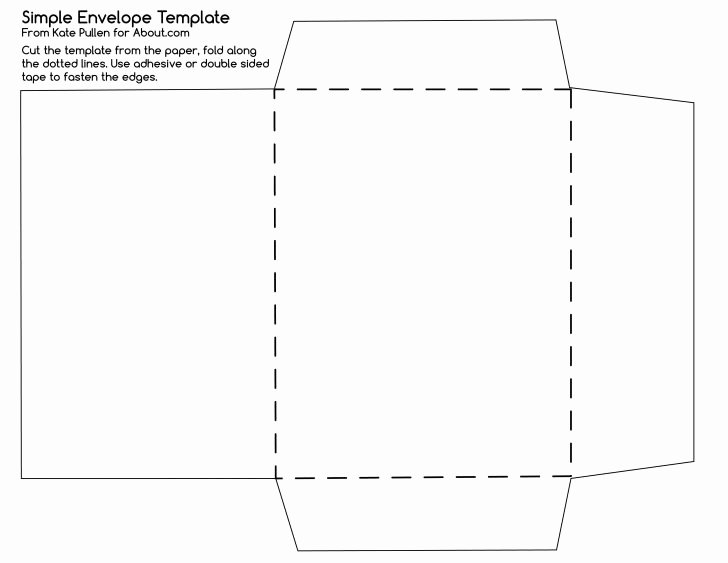 Template Envelope Template
