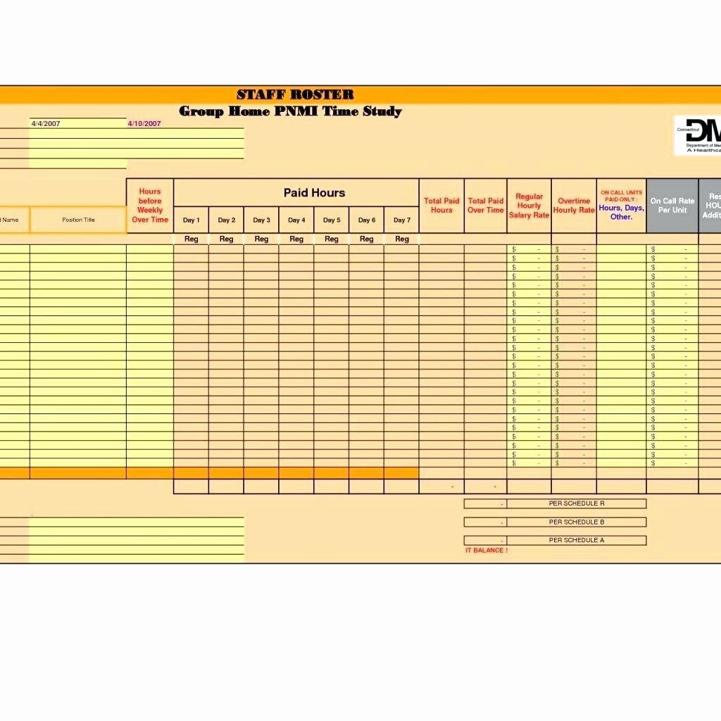 Template Excel Time Study Template and Motion Employee