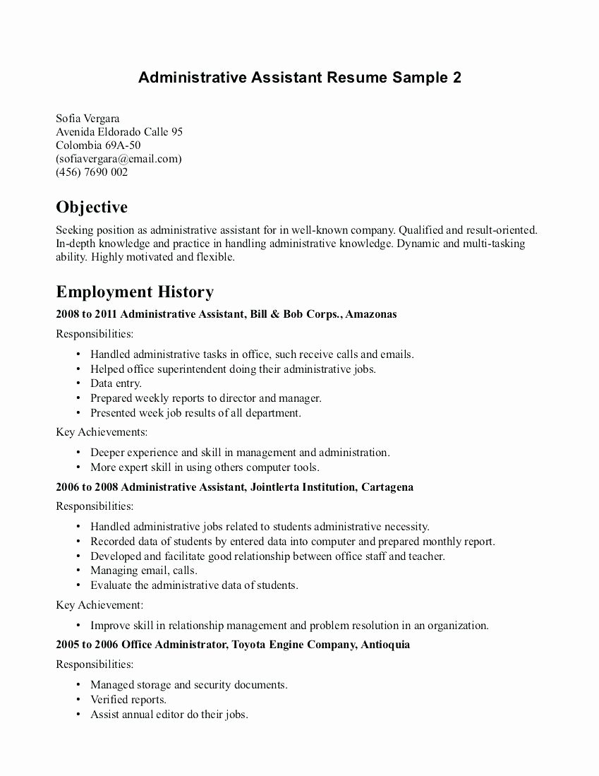 Template Fice assistant Cover Letter Template