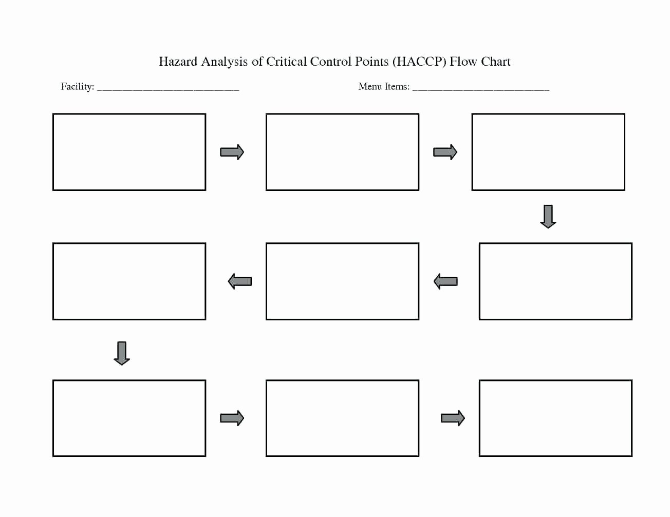 Template Flow Charts Template for Word