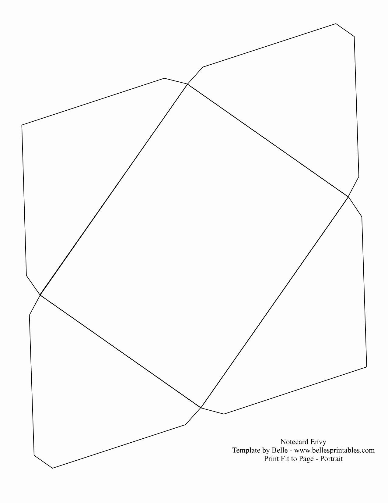 Template for A Envelope Cerca Con Google