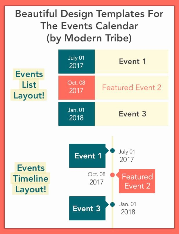 Template for Calendar events 2018 Templates Collections