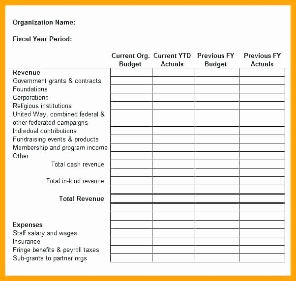 Template for Fundraiser – Buildingcontractor