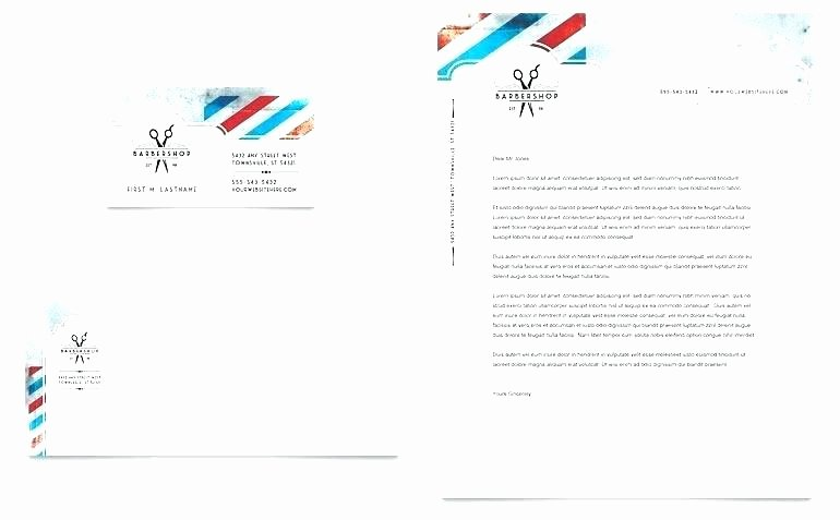 Template Free Letterhead Template D format Download