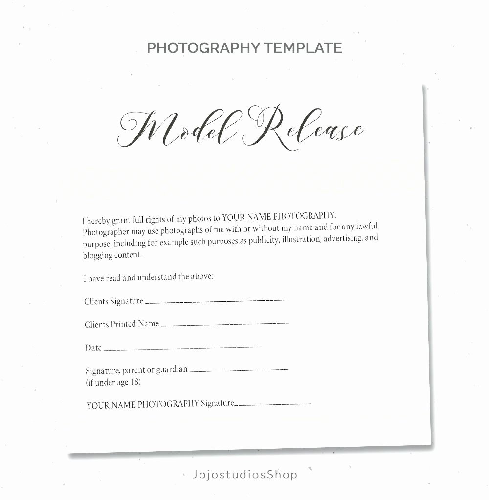 Template Graphy Print Release Template