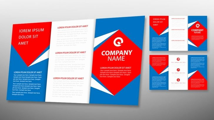 Template Illustrator Brochure Templates
