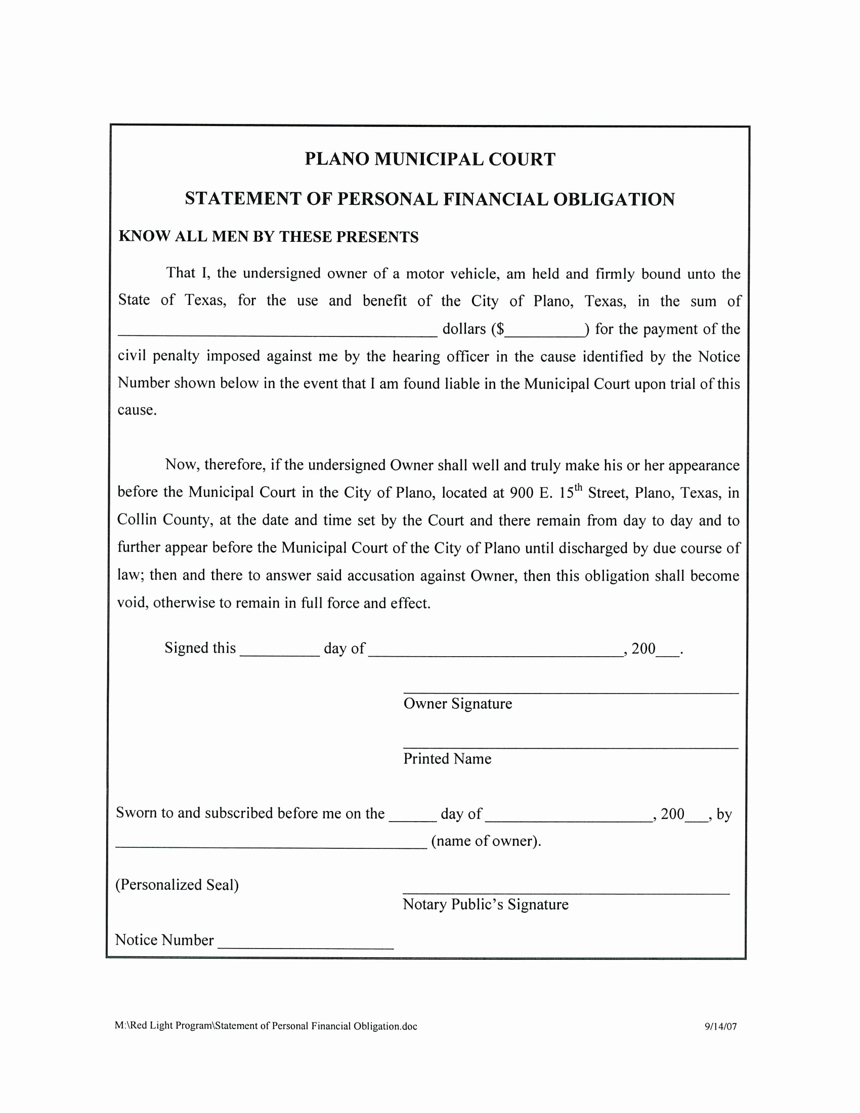 Template Liability Release form Template