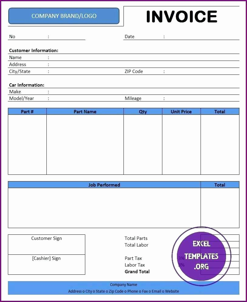 Template Microsoft Fice 2003 Excel Template