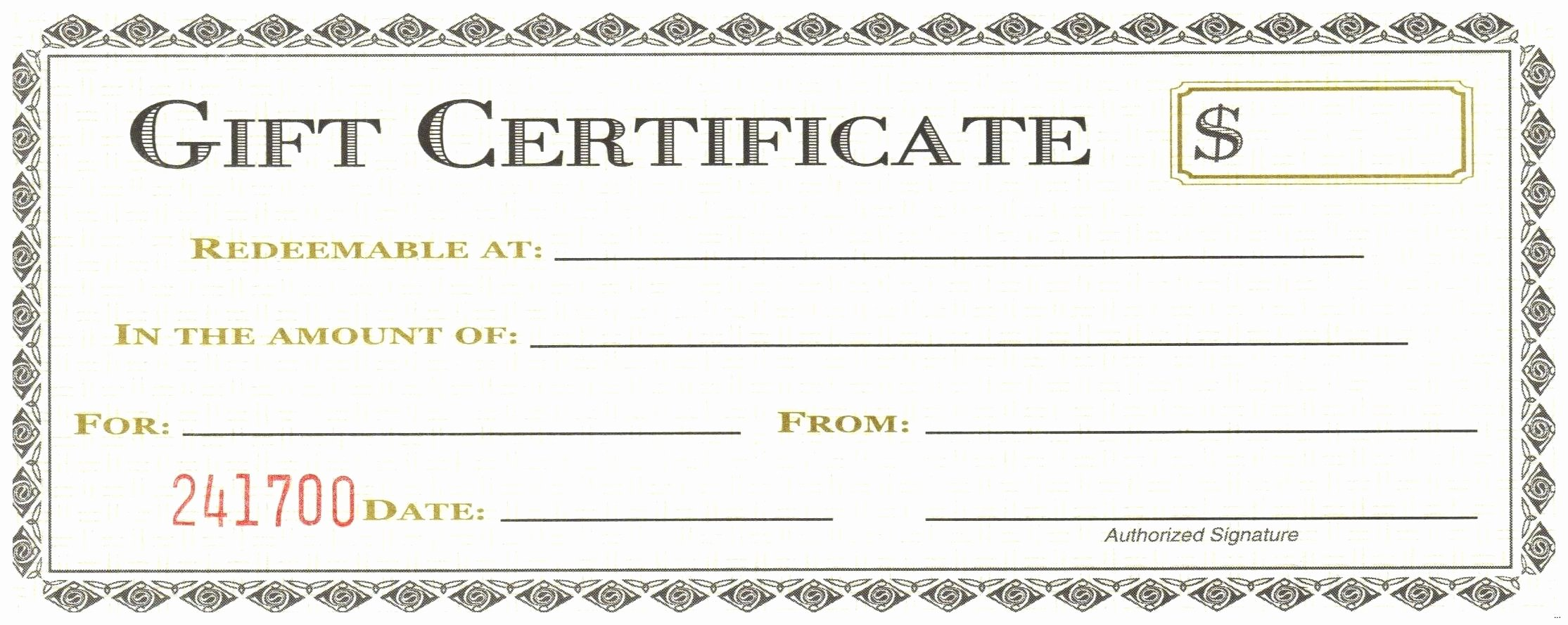 Template Microsoft Fice Gift Certificate Template