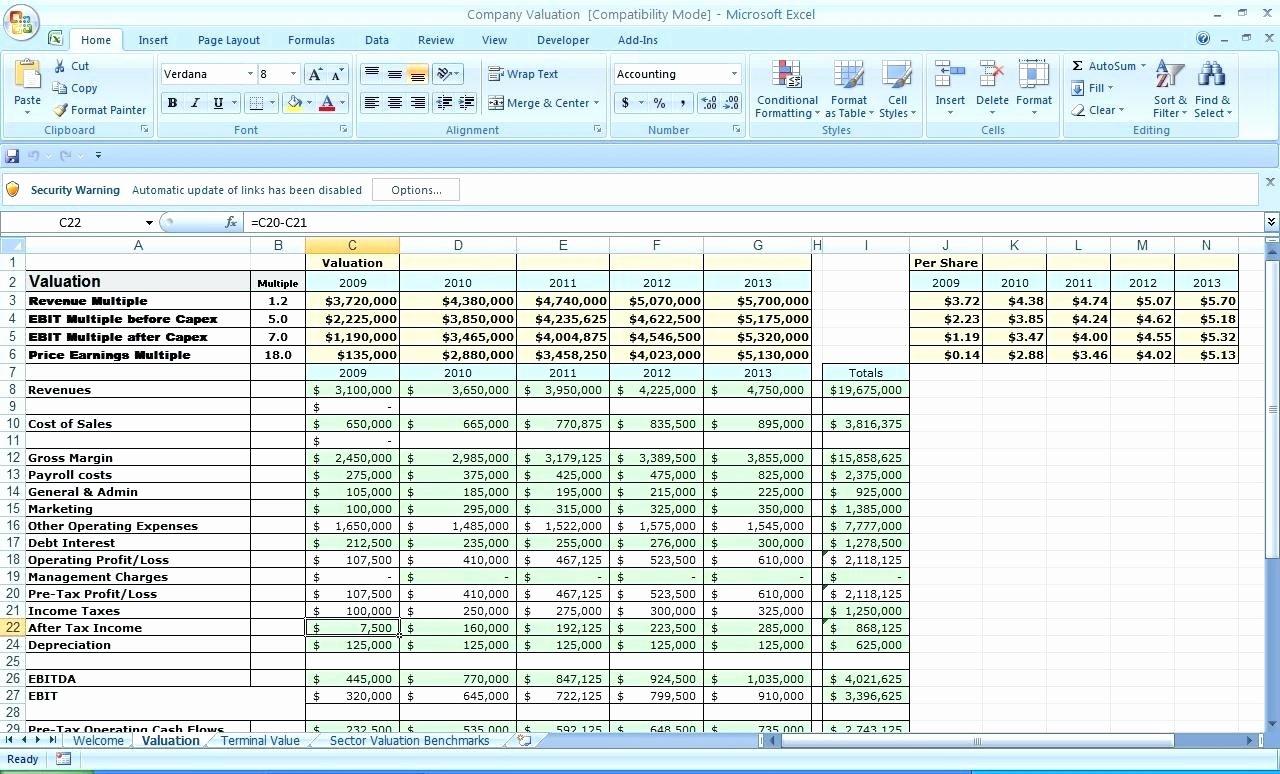 Template Microsoft Template Business Plan