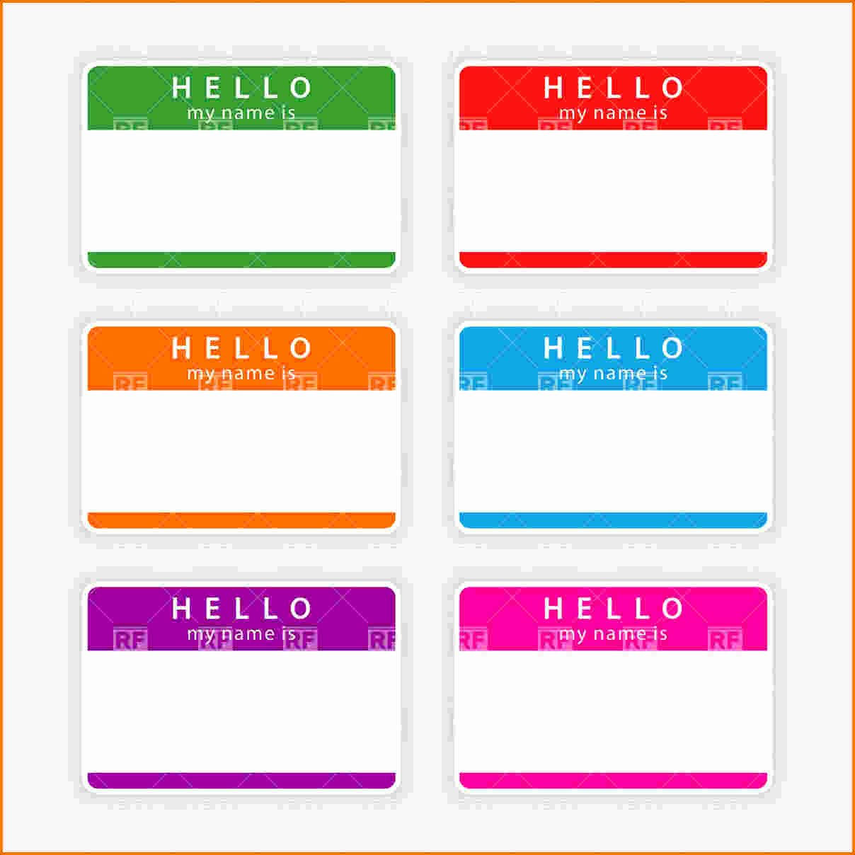 Template Name Tag Template Image Name Tag Template