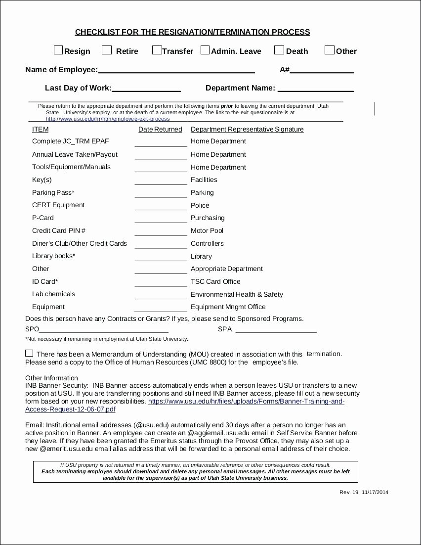 Template New Hire Paperwork Checklist Template