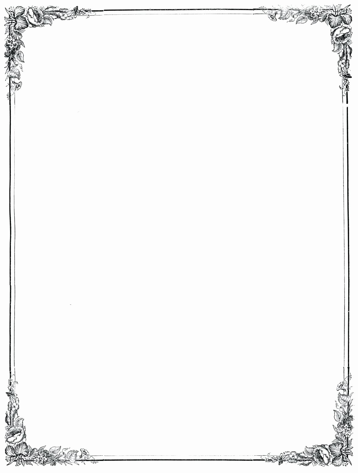 Template Page Borders Template