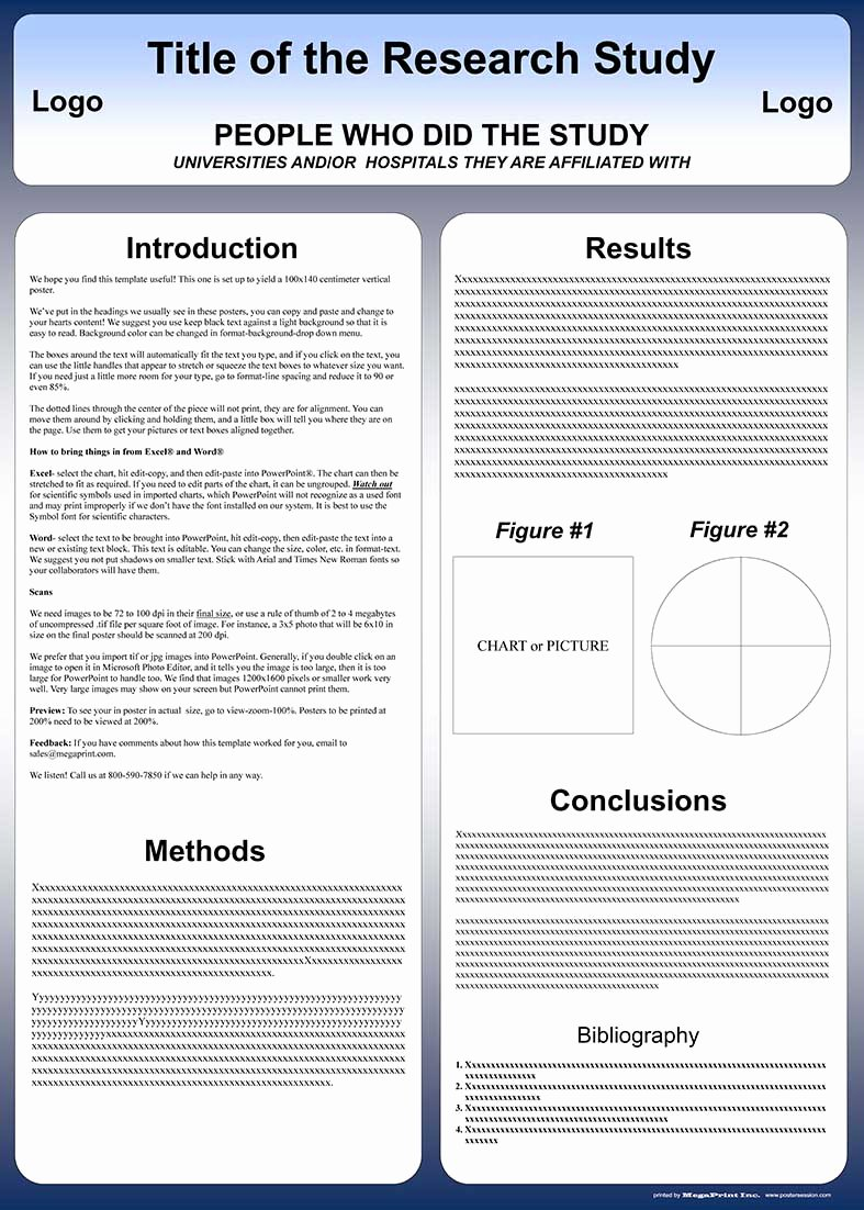 Template Poster Cientifico Powerpoint Templates Data