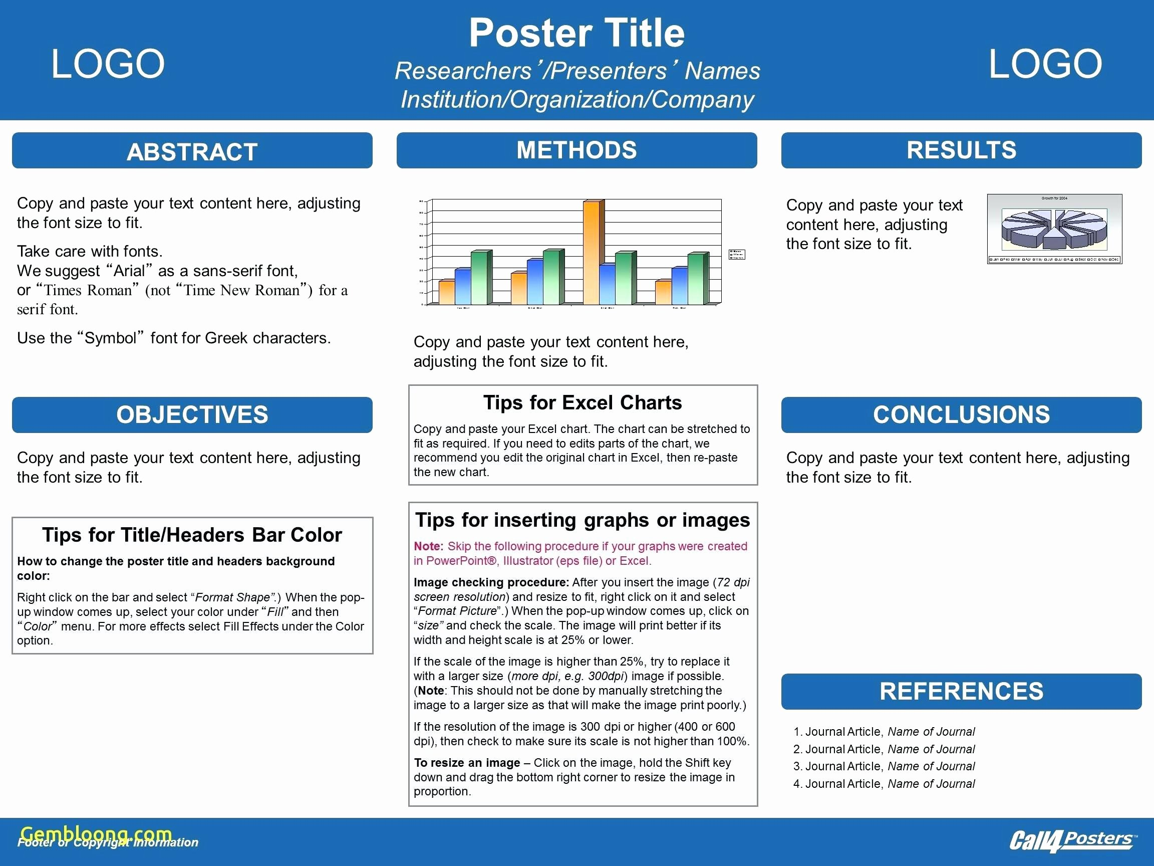 Template Powerpoint Template for Scientific Posters