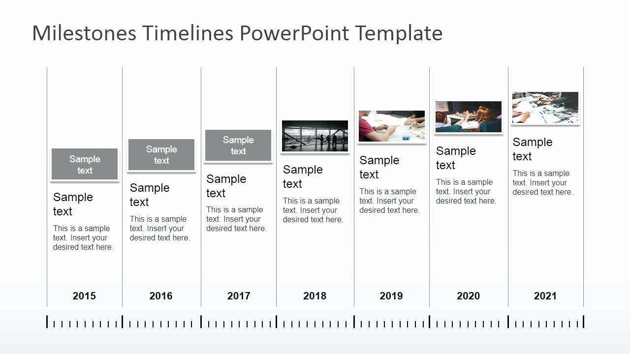 Template Ppt Template Timeline