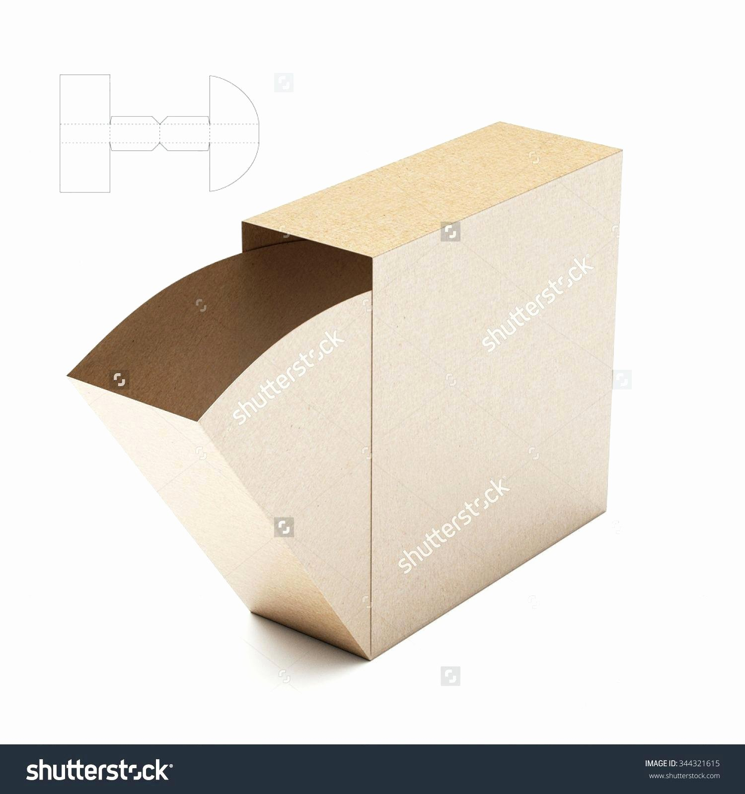 Template Product Box Template