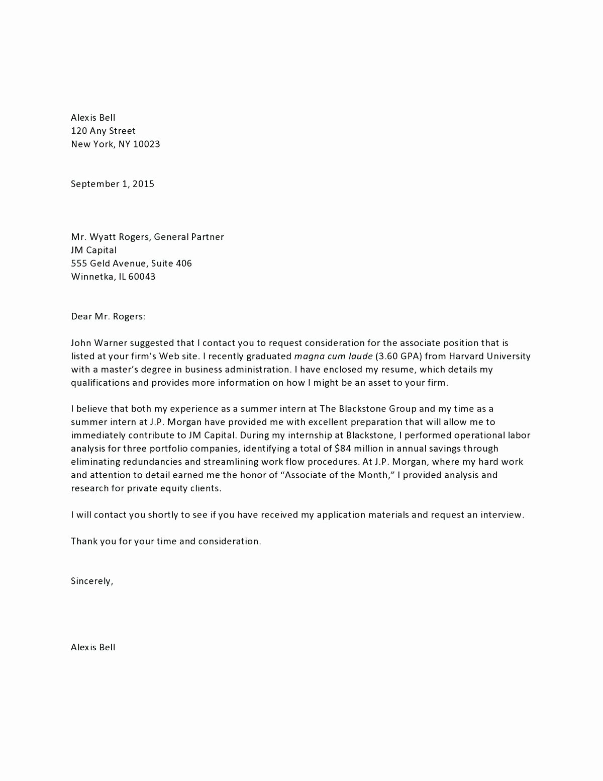Template Real Estate Prospecting Letter Template