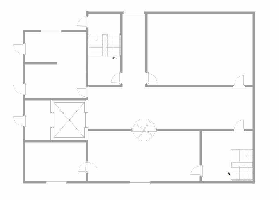 Template Restaurant Floor Plan for Kids