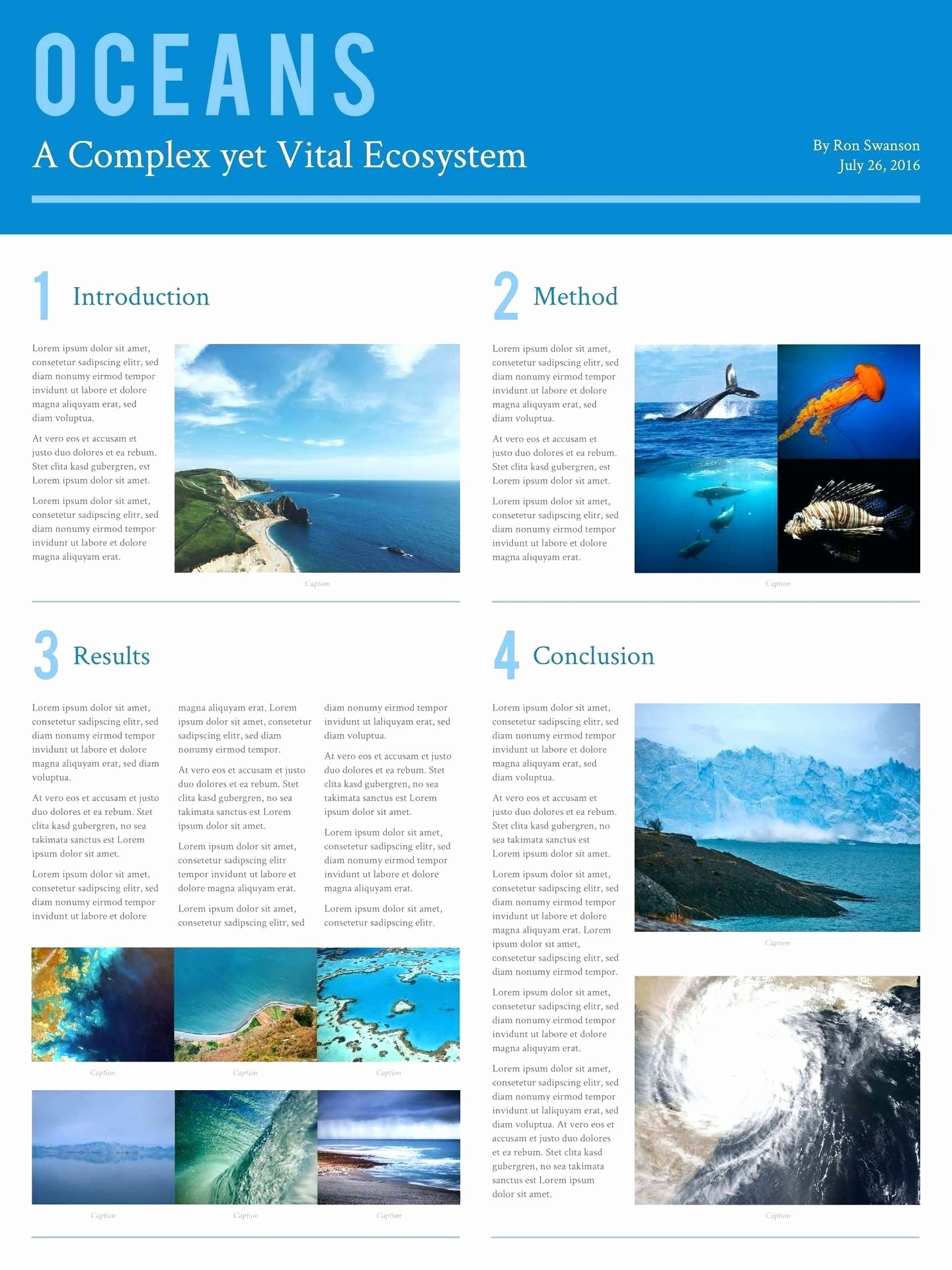 Template Scientific Poster Ppt Template Powerpoint