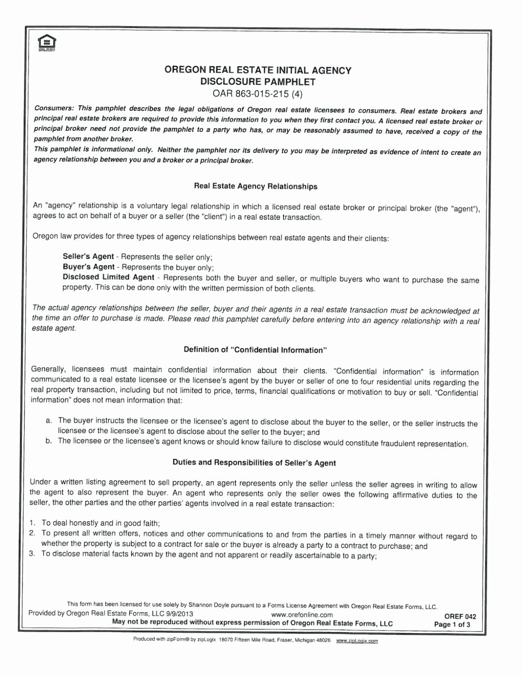 Template Security Guard Contract Template Agency