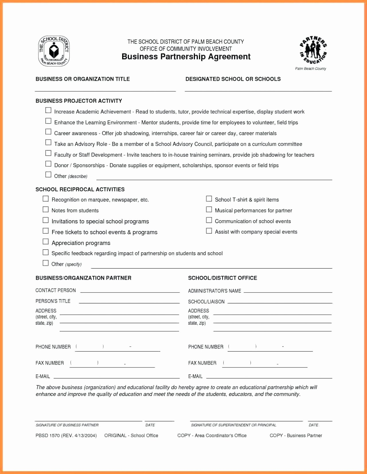 Template Selling Business Contract Template