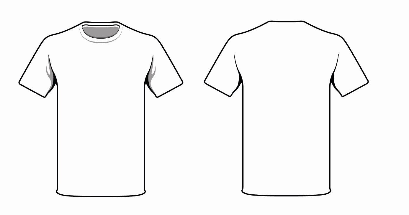 Template T Shirt Clipart Best