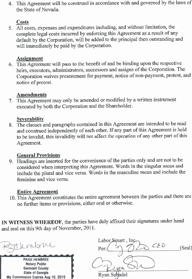 Template Waiver Agreement Template