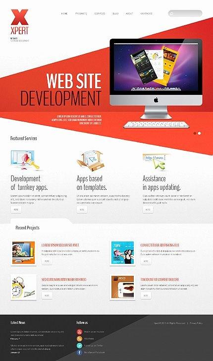 Template Web Design software Apps Joomla Bootstrap