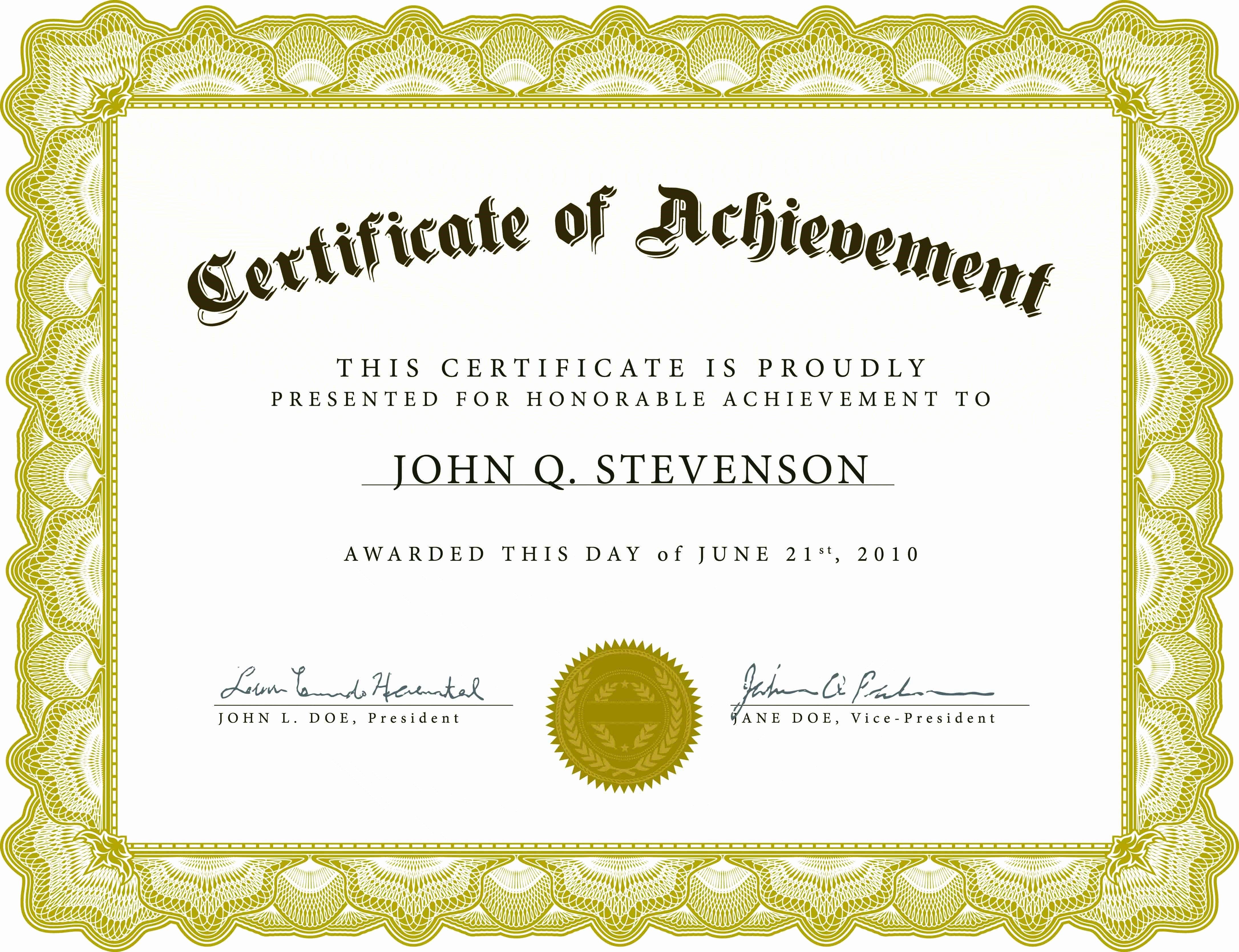 Templates Certificates Appreciation